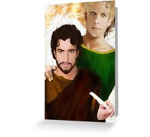 Saint Matthew the Apostle Greeting Card