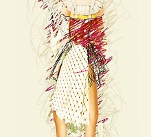 doll with apron, 2011 by Thelma Van Rensburg