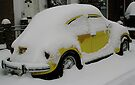Yellow Beetle (Canterbury in the Snow 2010) by JJFA