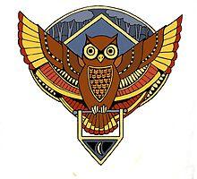 Warm Owl Friend by M McKeithen