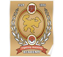 Fighting Training Academy Poster