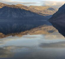 Ennerdale Water..A View Of The Fells by Jamie  Green
