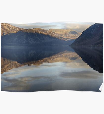 Ennerdale Water..A View Of The Fells Poster