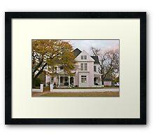 A Grand Old House Framed Print