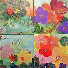 MOSAIQUE VIBRATION FLEURS by Isabelle Nivet