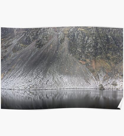 Wastwater Screes ..A Closer View Poster