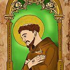 Saint Francis by Rowan  Lewgalon