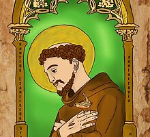Saint Francis by Rowan  Lewgalon