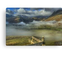 The Head Of Great Langdale Canvas Print