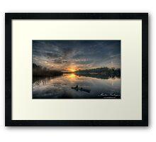 Evening Art Framed Print