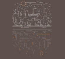 City 24 (Grey) Unisex T-Shirt