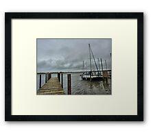 High Tide.  Framed Print