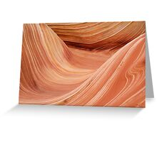 The Wave in the Coyote Buttes Greeting Card