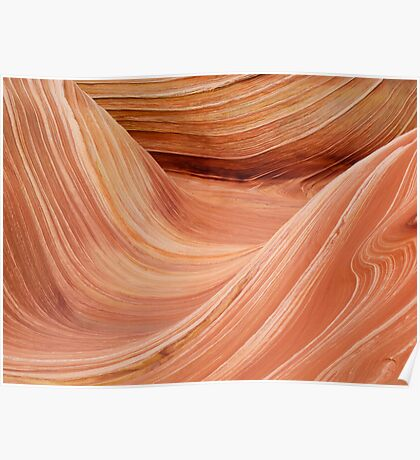 The Wave in the Coyote Buttes Poster