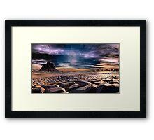 """""""LAND OF FAITH"""" Framed Print"""
