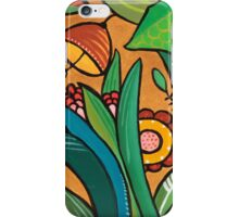 Flora 5 - Base Bronze iPhone Case/Skin