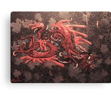 blood dragon Canvas Print