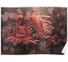 blood dragon Poster