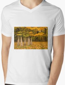 Autumn Mens V-Neck T-Shirt