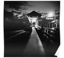 Train Station - Waltham, MA Poster