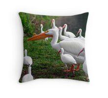 Birds Of A Feather! Throw Pillow