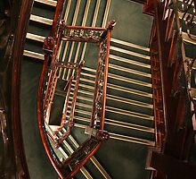 Staircase at Harrods by Marta69