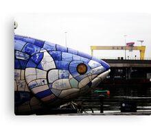 Belfast Fish Canvas Print