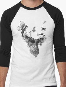 stag Men's Baseball ¾ T-Shirt