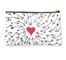One Heart One Love One Direction Studio Pouch