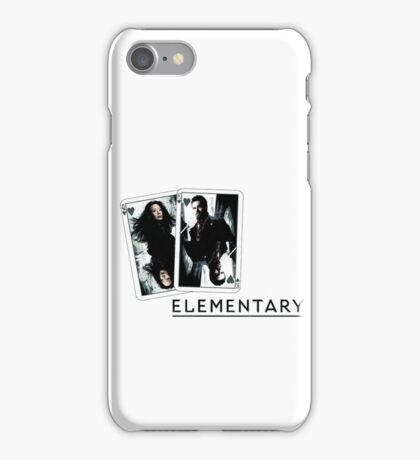 Elementary - Cards iPhone Case/Skin