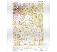 USGS Topo Map Oregon Oregon City 281004 1961 24000 Poster