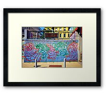 Graffiti I - Vienna  Framed Print