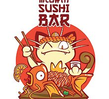 Sushi Bar by kingsandqueens