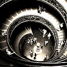 Vatican Staircase by Alison Ward