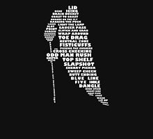 Hockey Player Terminology Calligram Unisex T-Shirt
