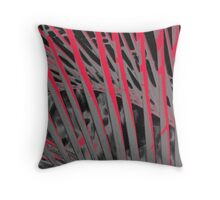 Pandanas Black & Red Throw Pillow