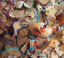 pencil shavings by sowabisabi