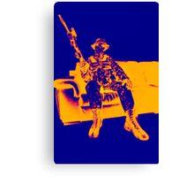 Boy Soldier 2 Canvas Print