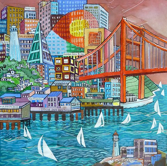 On the Bay by Sally Sargent