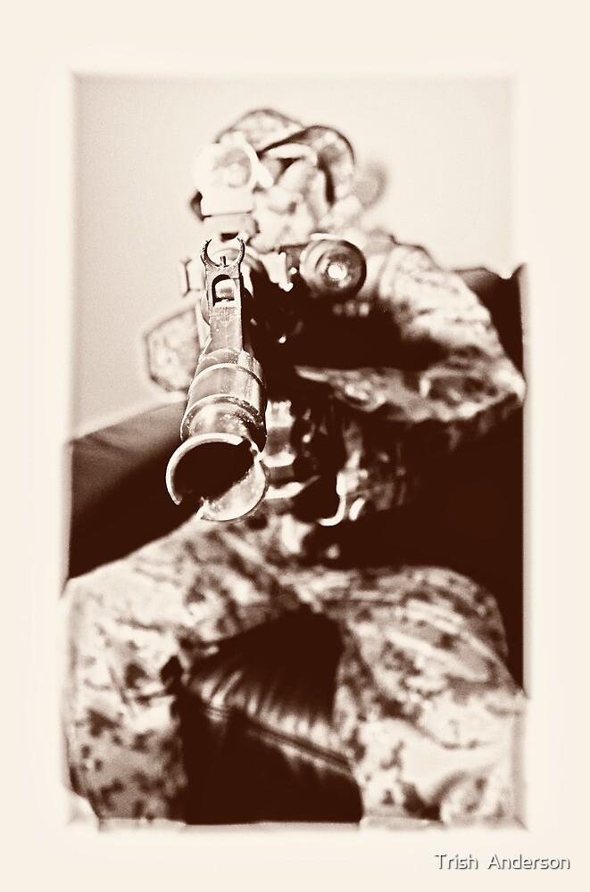 Boy soldier 3 by Trish  Anderson