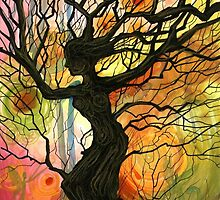 Tree of Life Series - 'Dusk' by Cherie Roe Dirksen