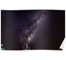 Milky Way Dog  Poster