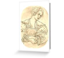 Rubens Girl Greeting Card