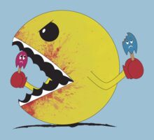 Pac Man: cold blooded killer.  by nexus-7