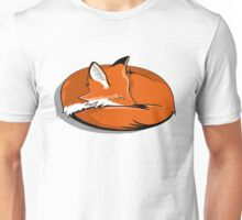 Red Fox in Snow Unisex T-Shirt