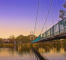 Northam Suspension Bridge - Western Australia  by EOS20