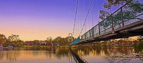 Northam Suspension Bridge - Western Australia  by EOS20