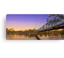 Northam Suspension Bridge - Western Australia  Canvas Print