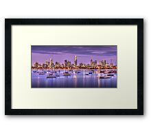 St. Kilda Harbour Framed Print