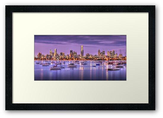 St. Kilda Harbour by Alex Stojan